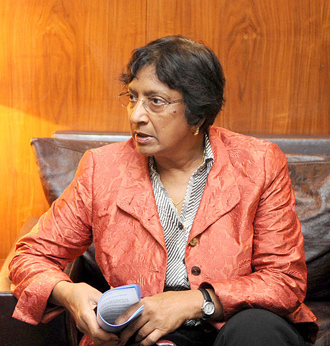 Navanethem Pillay - United Nations High Commissioner for Human Rights.