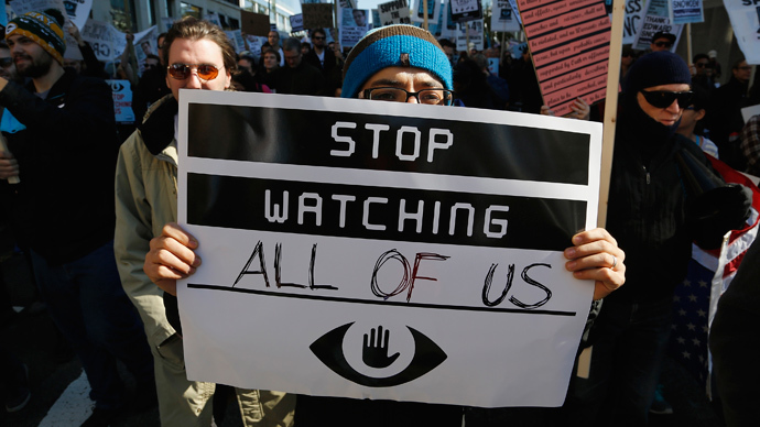 'Time to reform surveillance state': Stop Watching Us rally challenges NSA spying