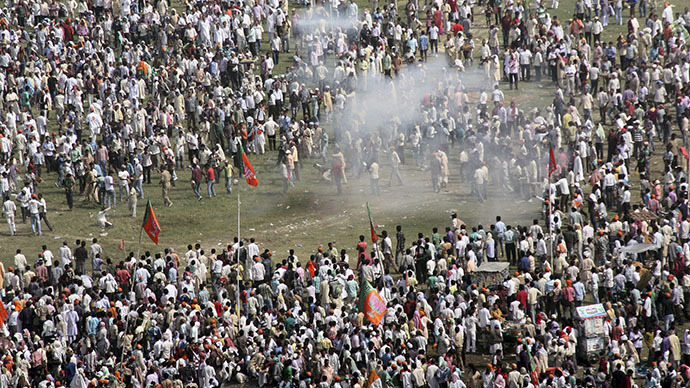 Blasts rock rally of controversial Hindu nationalist leader