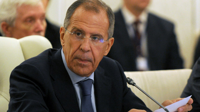 Syria rebel threats against Geneva-2 talks 'outrageous' – Lavrov