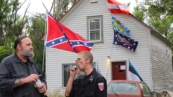 White supremacist claims North Dakota town ruins his dream