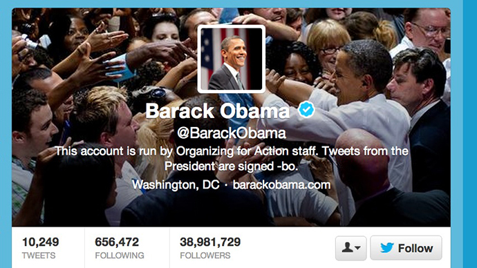 Obama's Twitter, Facebook hacked by Syrian Electronic Army