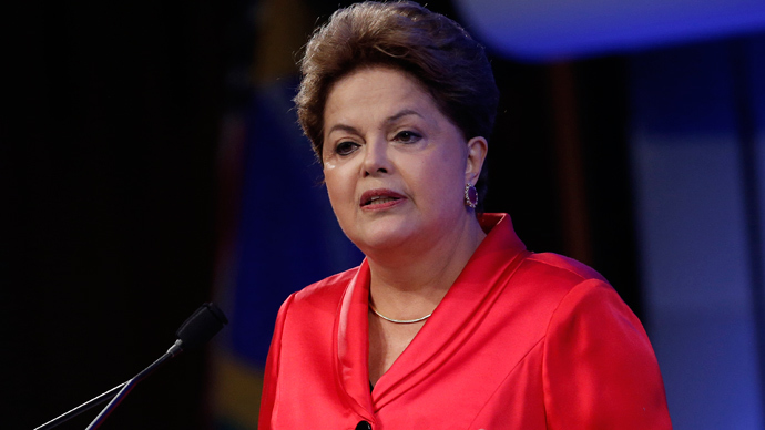 Dilma Rousseff, President of Brazil (Reuters / Chip East)