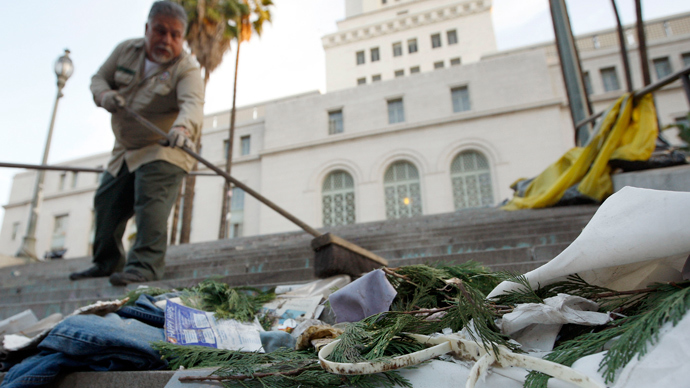 Los Angeles struggles to win war on garbage