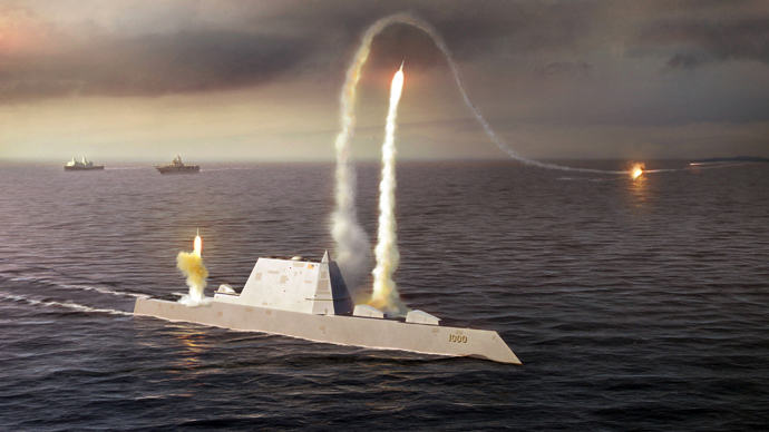 Navy to test electromagnetic gun aboard high-speed vessel in 2016 (VIDEO)