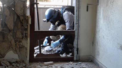 First batch of chemical weapons leaves Syria - OPCW