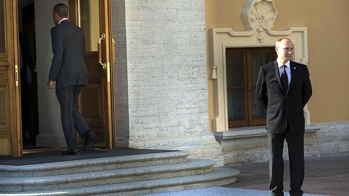US President Barack Obama (L) and Russia's President Vladimir Putin (AFP Photo / Pablo Martinez Monsivais)