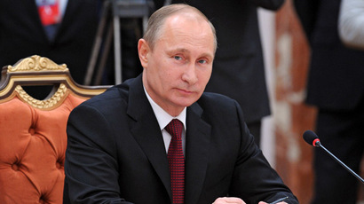 Putin tops Forbes 'most powerful' list for 2nd year running