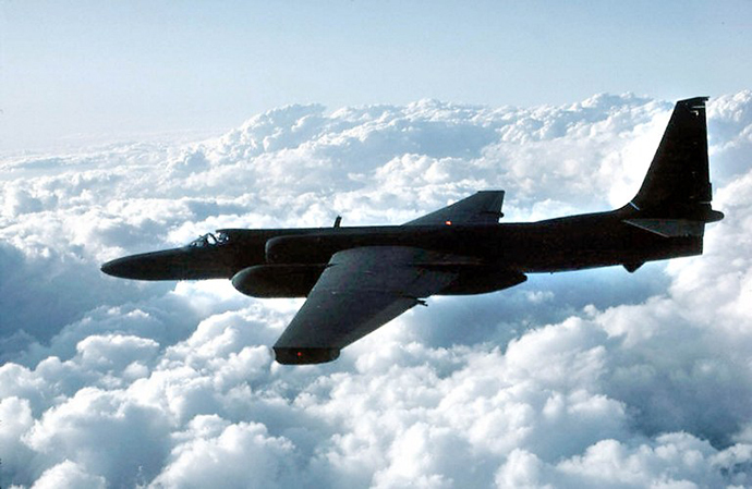 This undated hand out from the US Air Force photo shows a U-2 spy plane. (AFP Photo)