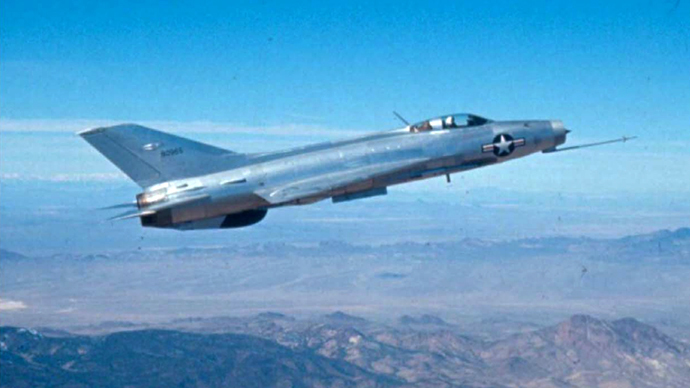 Declassified: US air force tested secretly acquired Soviet fighters in Area 51
