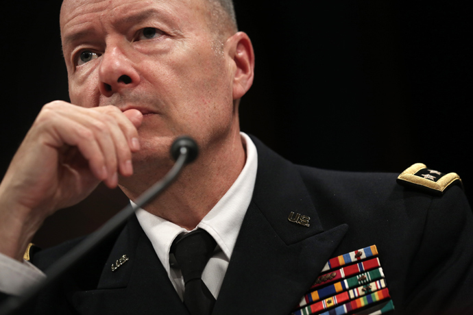 Director of the National Security Agency Gen. Keith Alexander (AFP Photo / Alex Wong)