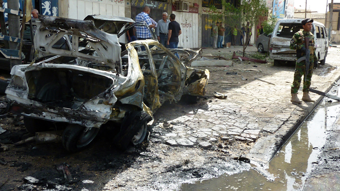 Suicide bombers hit Iraq as attacks kill 35 in two days