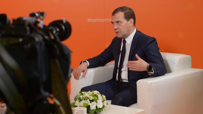 Russia's Prime Minister Dmitry Medvedev (RIA Novosti / Alexander Astafyev)