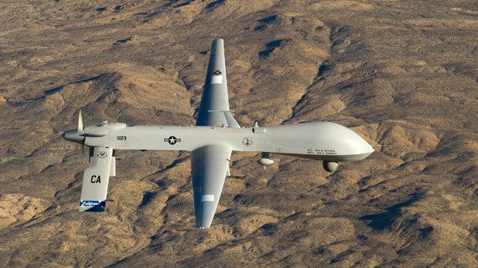 A U.S. Air Force MQ-1 Predator.(Reuters / Tech. Sgt. Effrain Lopez)
