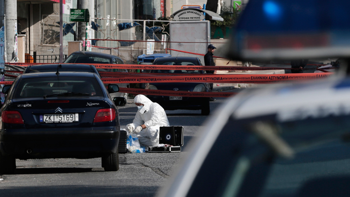 'Cycle of violence' feared in Greece after shooting kills 2 Golden Dawn supporters
