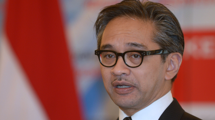 Indonesian Foreign Minister Marty Natalegawa (AFP Photo)