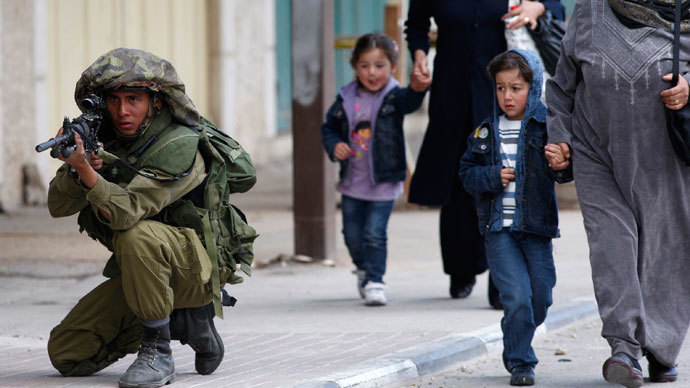 Duck and cover: Israeli army drills in populated Palestinian areas are 'legal' – IDF