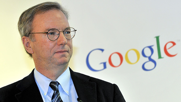 Google executive chairman Eric Schmidt (AFP Photo / Jung Yeon-Je)