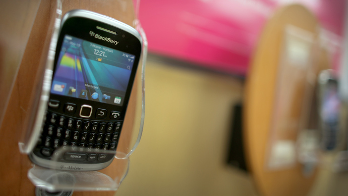 BlackBerry shares nosedive 16.4%, as smartphone maker calls off sale