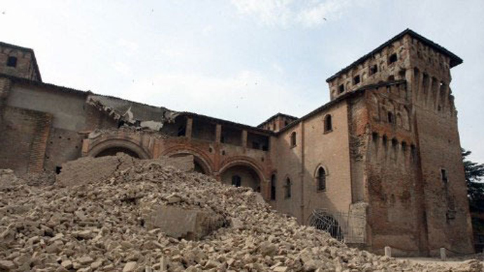 Mafia shakedown: EU relief funds for L'Aquila earthquake 'misused' by criminals