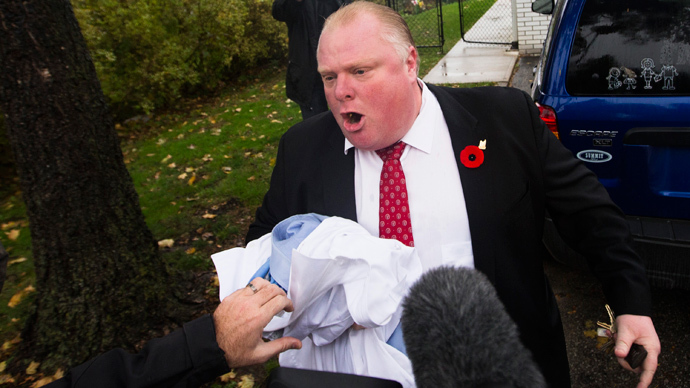 Toronto Mayor Rob Ford caught drunkenly swearing in new YouTube video