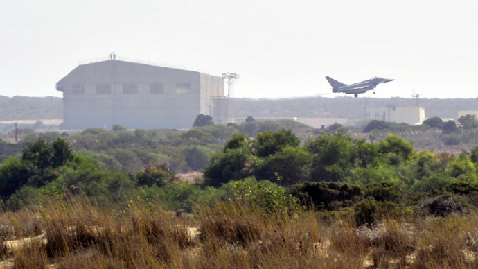 UK's military base in Cyprus 'taps into Middle East, Mediterranean comms'
