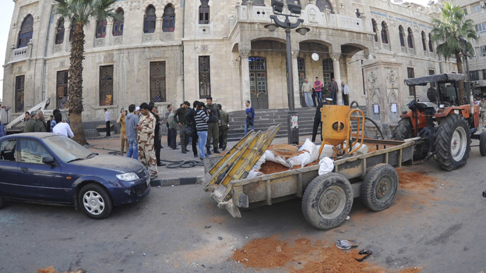 16 killed, over 90 wounded in double bombing in Syria (PHOTOS)