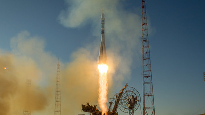 Russia's Soyuz brings ISS crew back to Earth