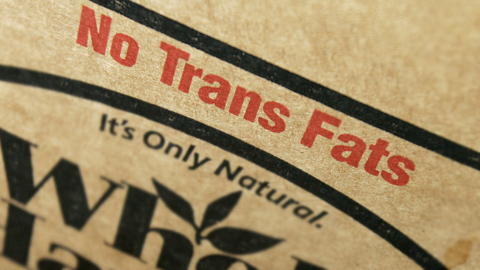 US makes first step toward banning trans fats