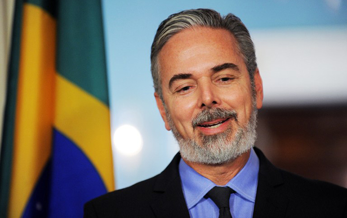 Brazilian Ambassador Antonio de Aguiar Patriota (AFP Photo / Jewel Samad)