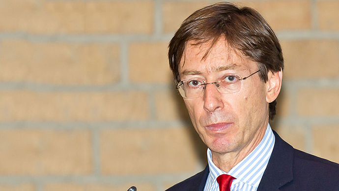 German Ambassador Peter Witting (Image from wikipedia.org)