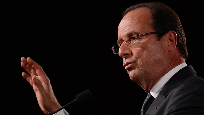 France's President Francois Hollande (AFP Photo / Emmanuel Dunand)