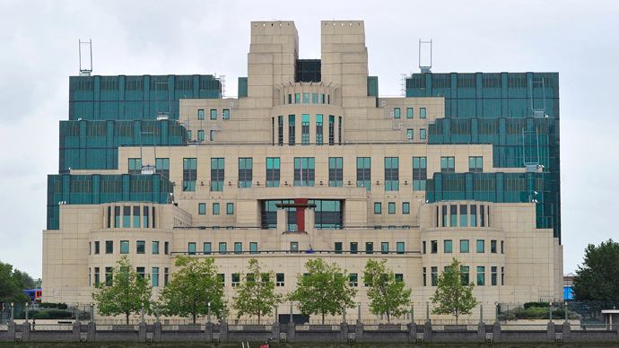 MI6 building in London (Reuters / Toby Melville)