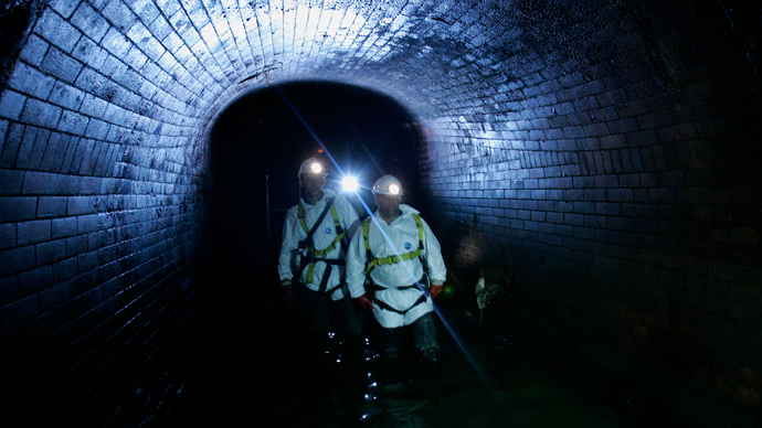 Sniffing out explosives: Scanner would allow police to locate bomb factories from sewers