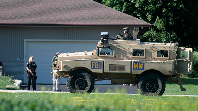 Two rifles stolen from FBI SWAT vehicle in Massachusetts