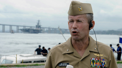 Navy's second-in-command forced to resign amid corruption scandal