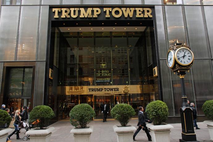 Trump Tower in New York (Reuters / Eduardo Munoz)