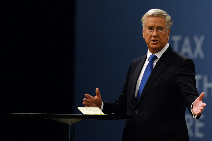 Michael Fallon, Minister of State for Business and Enterprise (AFP Photo / Paul Ellis)