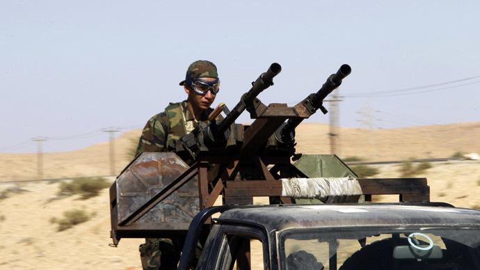 Libyan rebel (AFP Photo/Joseph Eid)