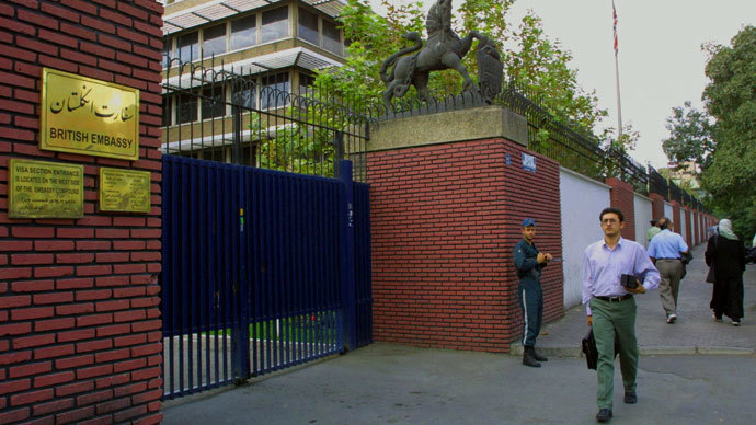 UK, Iran revive diplomatic ties with first charge d'affaires since 2011 embassy attack