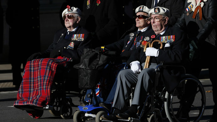 Decisive victory: UK navy WWII vets finally receive Russian bravery medals