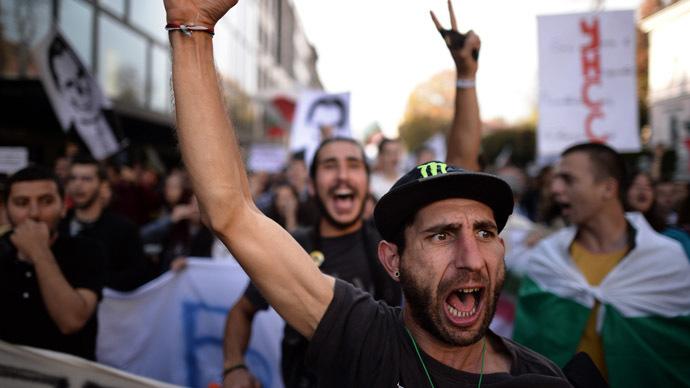 Students reignite popular anti-corruption protests in Bulgaria