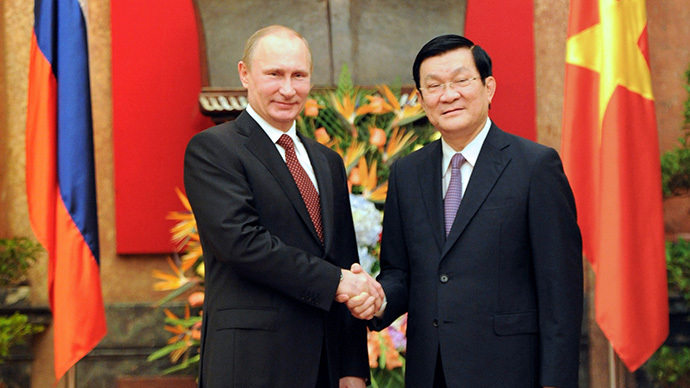 'Special Comrades' Russia and  Vietnam to double trade by 2015