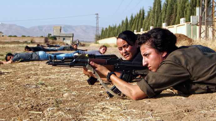 Syrian Kurds announce formation of transitional authority upon gains over jihadists