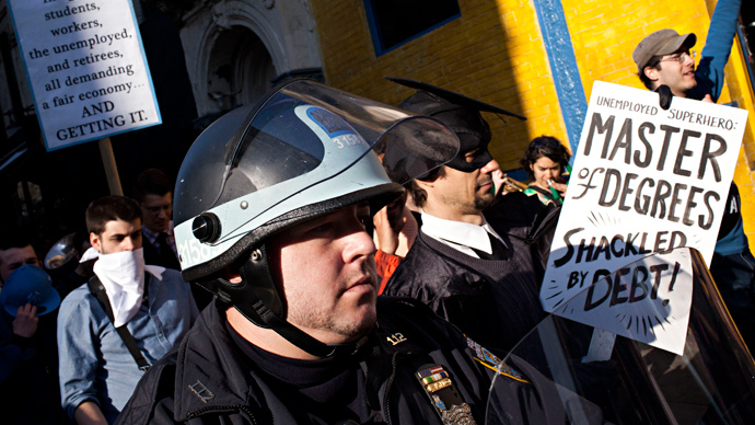 Occupy Wall Street activists announce new elimination of $13mn of Americans' debt
