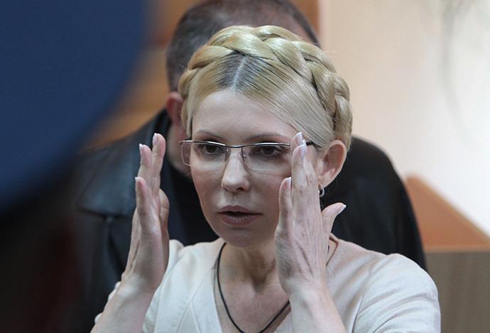 (FILE) Yulia Tymoshenko, Ukraine's ex-Prime Minister and leader of the BYUT-Batkinvshchina Party, seen in the Kiev Pechersky Court, 2011. (RIA Novosti / Sergey Starostenko)