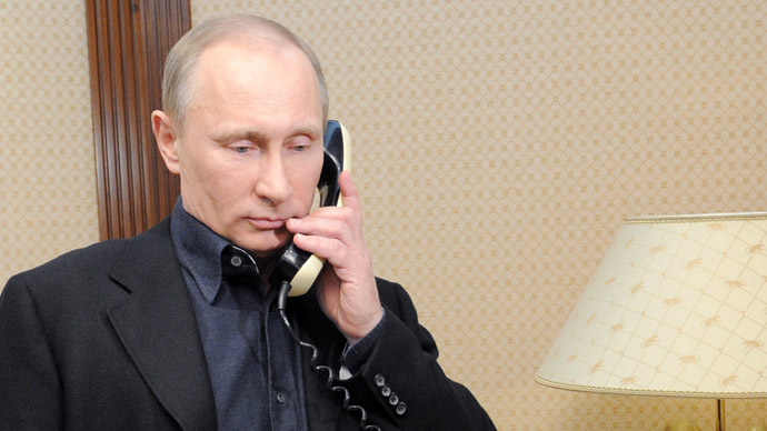 Putin calls Assad on Geneva-2, chemical weapons, persecution of Christians