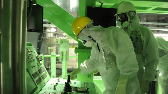 Robot detects locations of radioactive leaks at crippled Fukushima nuclear plant