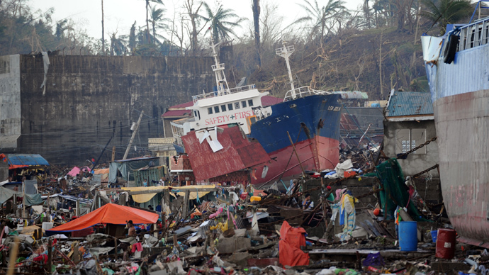 UN doubles Philippines typhoon death toll to over 4,400