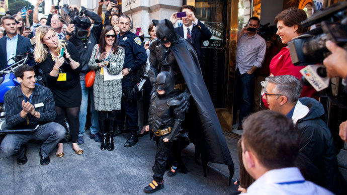 Five-year old leukemia survivor takes San Francisco by storm as 'Batkid'